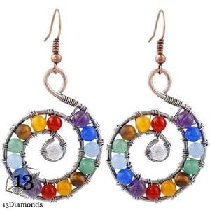 Chakra Earrings Style 1 Earrings