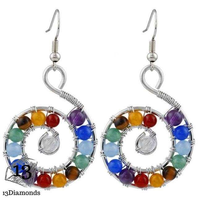 Chakra Earrings Style 2 Earrings