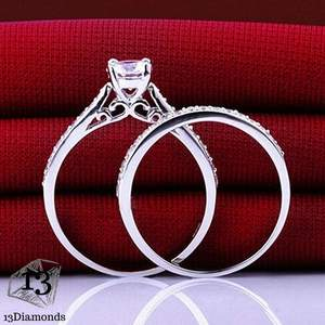 Charm Crystal 2 Rings