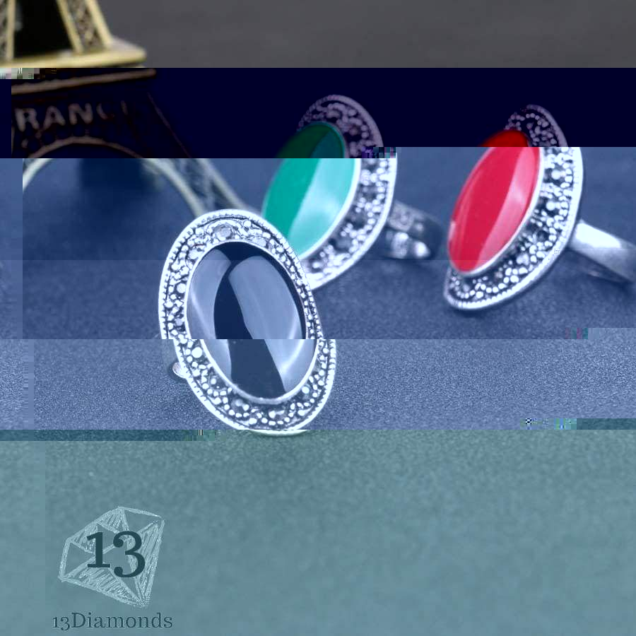 Classic Oval Ring Rings